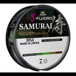 Daiwa J-Fluoro Samurai Hidden Concept 12lb 220yd (Green/Brown)