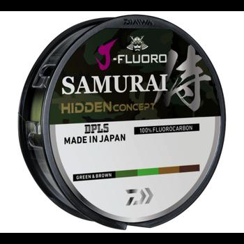 Daiwa J-Fluoro Samurai Hidden Concept 8lb 220yd (Green/Brown)