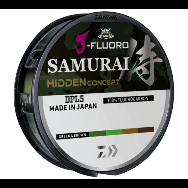 Daiwa J-Fluoro Samurai Hidden Concept 7lb 220yd (Green/Brown)