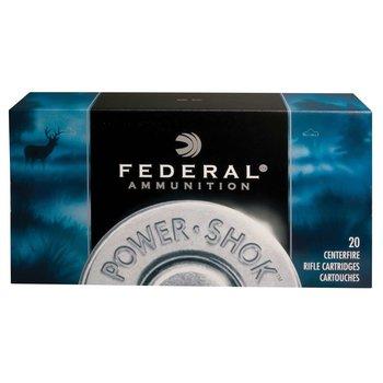Federal Federal 7RA Power-Shok 7mm Rem Mag 150 gr Jacketed Soft Point (JSP) 20 Bx