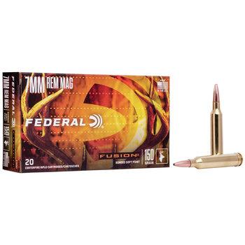 Federal Fusion 7mmMag 150Gr Ammunition