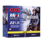 CCI Mini-Mag MeatEater Special Edition Ammunition 22 Long Rifle 36 Grain Plated Lead Hollow Point