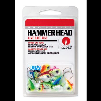 VMC Hammer Head 1/4oz Jig's UV 10-pk
