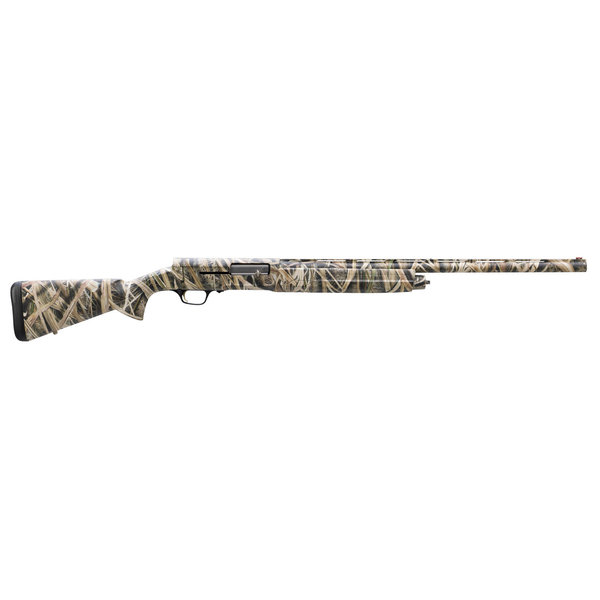 """Browning 0118183005 A5 12 Gauge 26"""" 4+1 3"""" Mossy Oak Shadow Grass Blades Synthetic Right Hand"""
