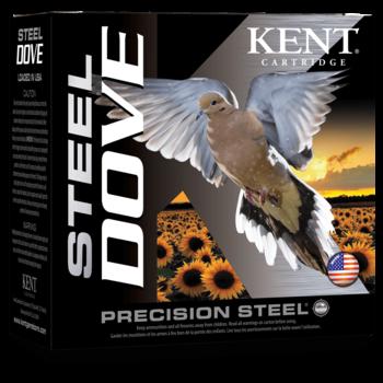 """Kent Steel Dove 20ga 2 3/4"""" 7/8 OZ #6 1400 FPS Ammunition"""