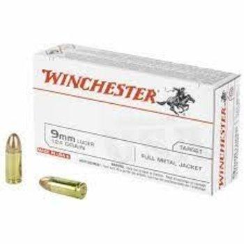 Winchester Winchester 9MM Pistol Ammo 124gr FMJ