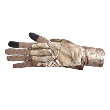 MANZELLA Snake Touch tip glove Ameristep Doghouse Hunting Realtree Xtra