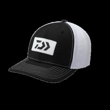 Daiwa D-Vec Trucker Hat with Rubber Blk/Wht