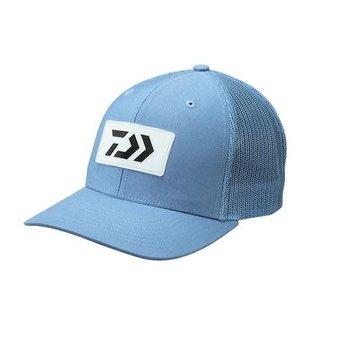Daiwa D-Vec Trucker Hat with Rubber Patch Blue