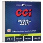 CCI MINI-MAG 22LR SHOTSHELL AMMO 20 PK