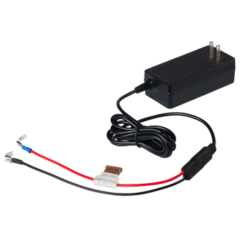 MarCum Lithium 12V 3Amp Life PO4 Charger w/ Wiring Harness