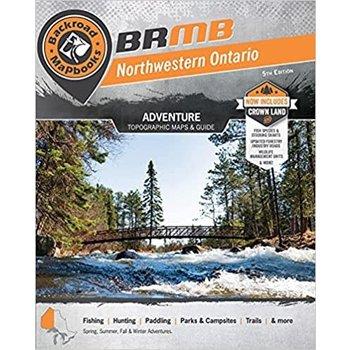 Backroad Mapbook Backroad Mapbook Northwestern Ontario 6rh  Edition