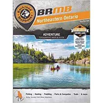 Backroad Mapbook Northeastern Ontario, 5th Edition