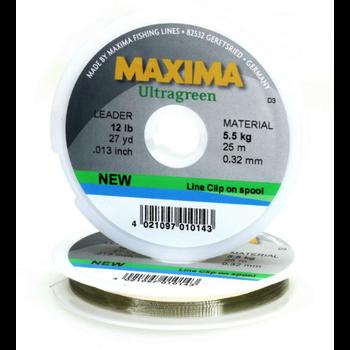 Maxima Ultragreen 6lb 27yd Leader Material