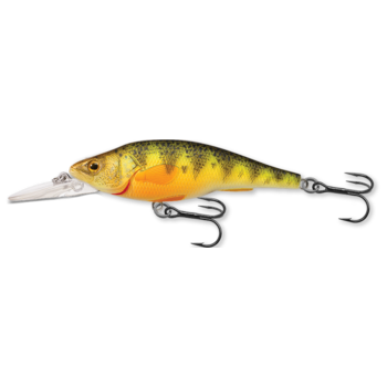 Koppers LIve Target Yellow Perch. 1-2' Fluoroscent 4 3/4