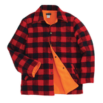 Backwoods Lumberjack Reversible Hunting Jacket, Red/Black Check, XL