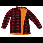 Backwoods Reversible Fleece Lumber Jacket