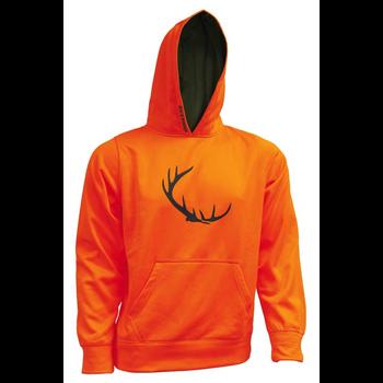 Backwoods Kid's Hoody, Blaze Orange, XL