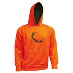 Backwoods Kid's Hoody, Blaze Orange, M