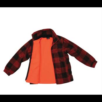 Backwoods Kid's Lumberjack Jacket, Blaze Orange, M