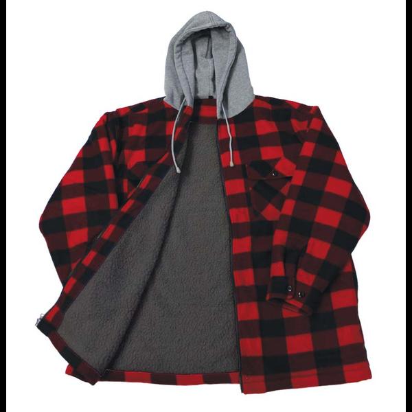 Backwoods Lumberjack Sherpa Lined Jacket, L