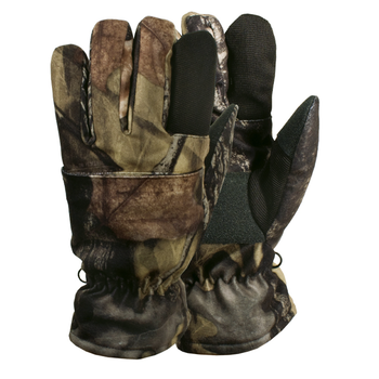Backwoods Kid's Finger Glove, Pure Camo Vertical HD, L