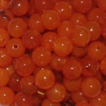 Troutbeads 10mm Caramel Roe