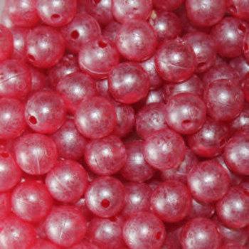 Troutbeads Mottledbeads 10mm Ruby Roe