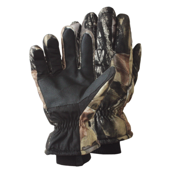 Backwoods Insulated Glove, Pure Camo Vertical HD, M