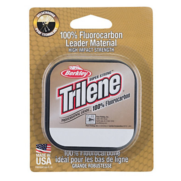 Berkley Trilene 12lb 100% Fluoro Leader Material. 25yds