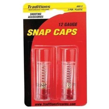 Traditions 12ga Snap Caps 2 PK
