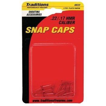 Traditions .22 Cal snap Caps 12PK