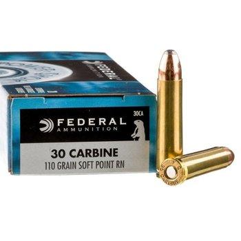 Federal 30 Carbine 110gr SP Ammunition