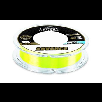 Sufix Advance Ice Monofilament 12lb Neon Lime 100yds