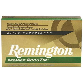 Remington Premier Accutip Rifle Ammunition PRA17RA, 17 Remington, Accutip-V, 20 GR, 4250 fps, 20 Rd/bx
