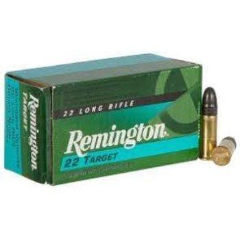 Remington Remington 6122 Target 22 LR 40 GR  Round Nose Ammunition 1150 FPS