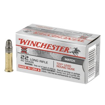Winchester Winchester T22 Target 40gr  Qty 50