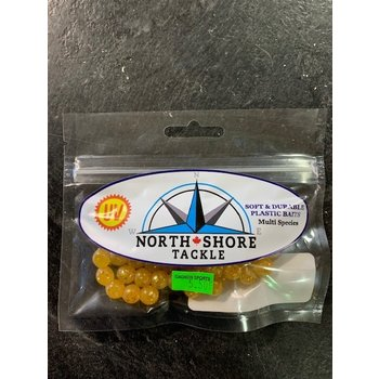North Shore Tackle Soft Bead 10mm Honey Yolk