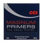 CCI CCI Small Pistol Mag Primers 550/ PER100