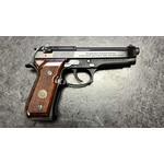 Beretta 92FS 9mm Semi Auto Pistol w/Wood Grips