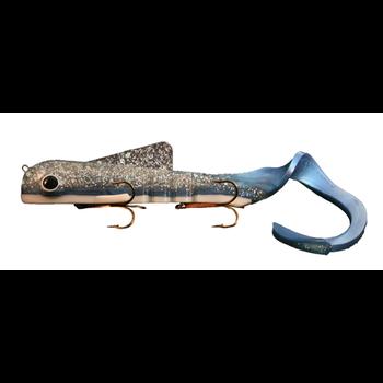 Musky Innovations Magnum Bull Dawg Silver/Blue