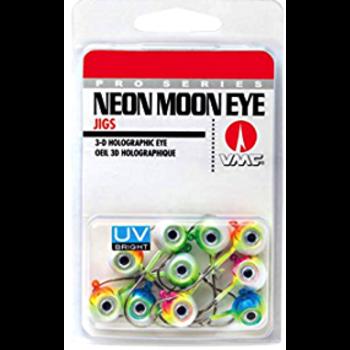 VMC Neon Moon Eye Jig UV Kit 1/4oz Assorted 10-pk