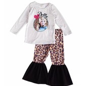 1209 DOLLY PARTON CHEETAH TODDLER SET