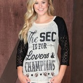 1288 THE SEC IS FOR LOVERS & CHAMPIONS SIZE XL