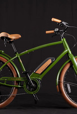 Raleigh 2019 Raleigh Electric Retroglide Royale iE Step Over Green ONE SIZE