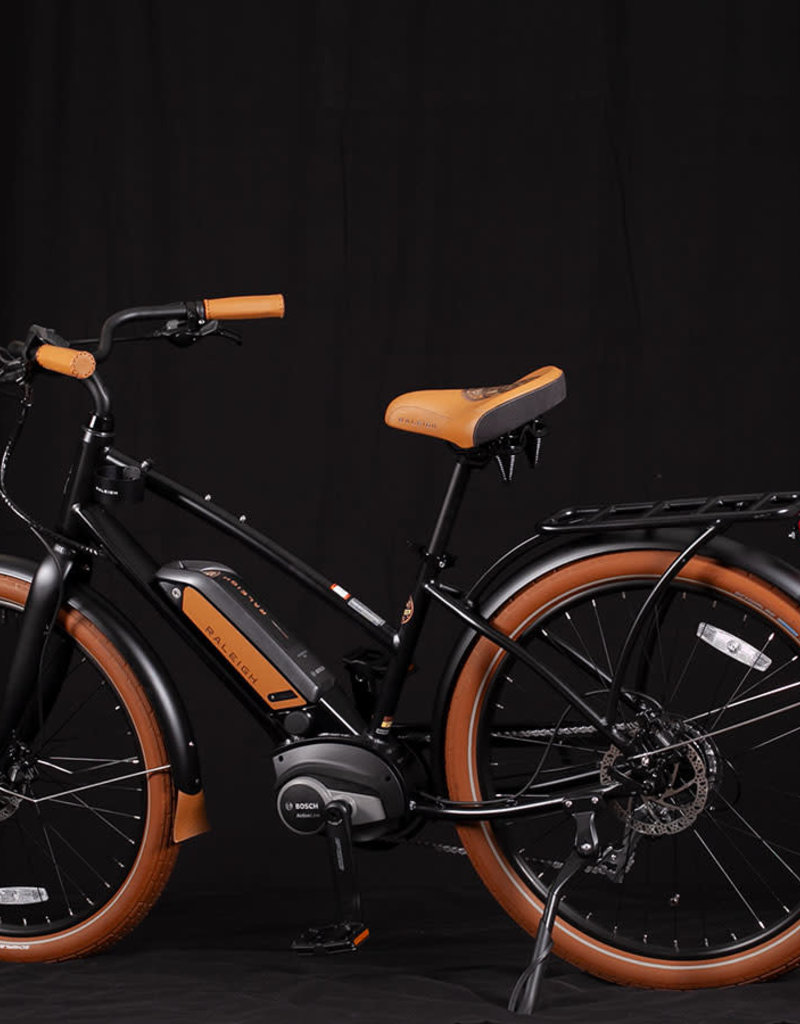Raleigh 2019 Raleigh Electric Retroglide Royale iE Step Thru Black ONE SIZE