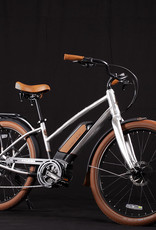 Raleigh 2019 Raleigh Electric Retroglide Royale iE Step Thru Raw Material - One Size