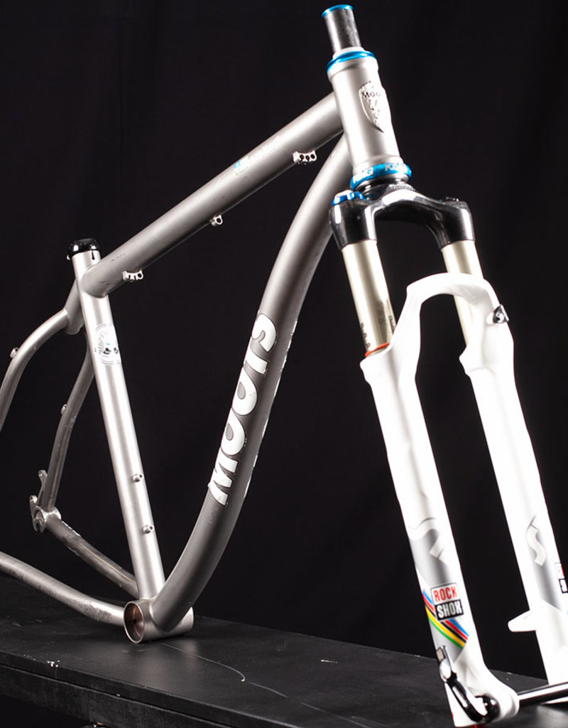 Used Moots MootoX RSL 29er Titanium Mountain Bike Frame, w/fork Size 19in