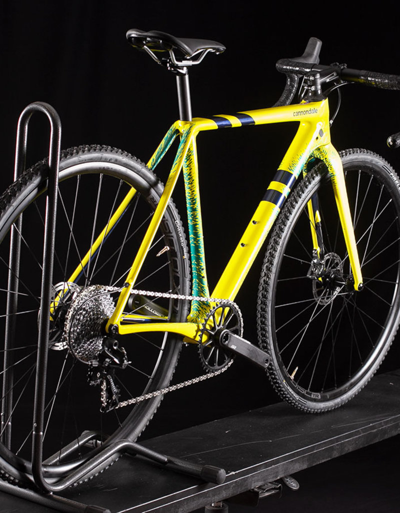 2020 Cannondale Super X Force 1 Gravel Cyclocross bike Size 51cm Nuclear Yellow