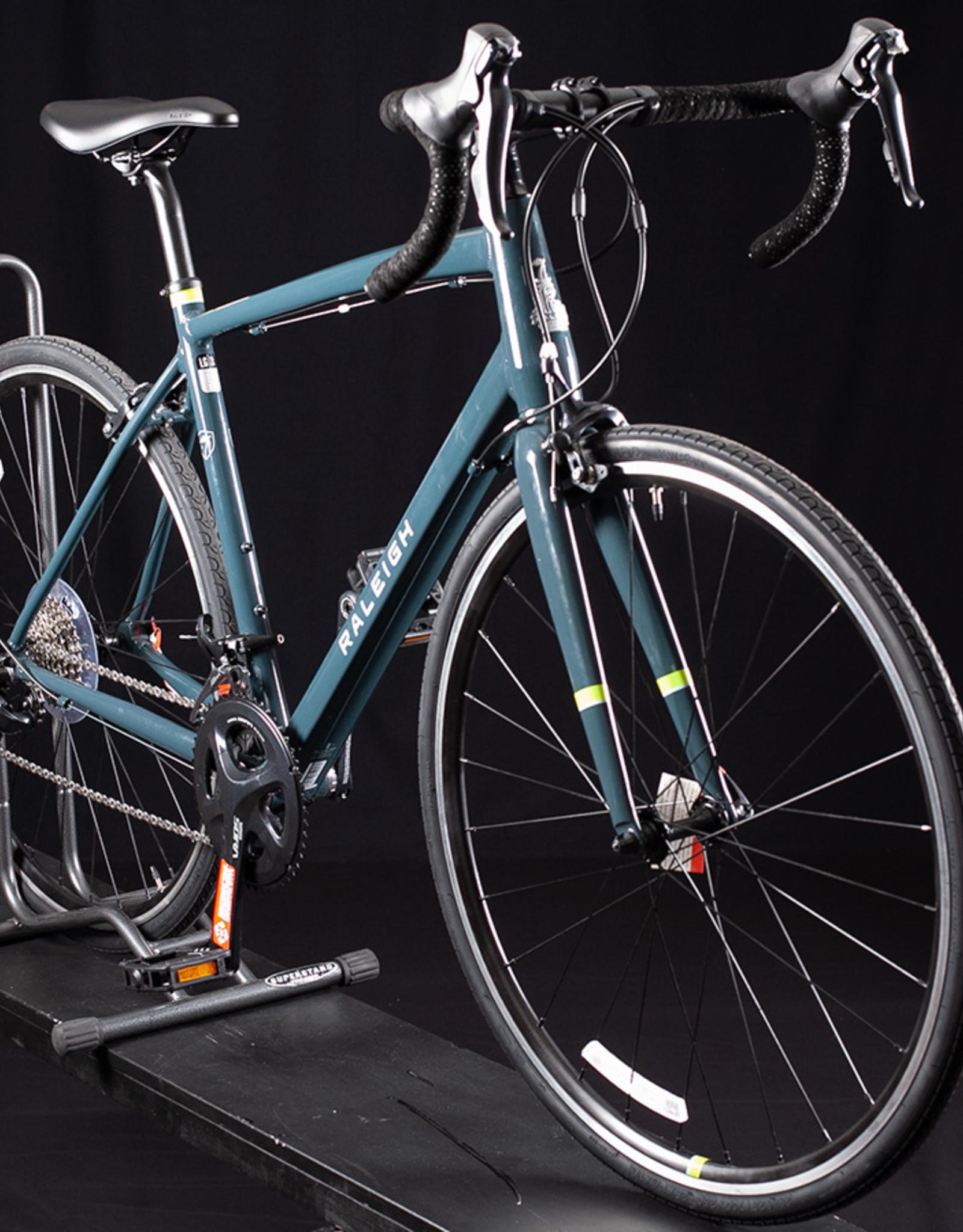2020 Raleigh Merit 2 Road Bike w/ Rim brakes, Size 56cm (L), Smoke Grey